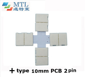 "LED corner connector ""+"" type FPC-2P10MM-C"