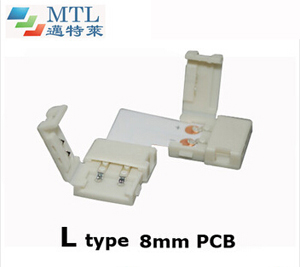 LED corner connector L type FPC-2P8MM-L