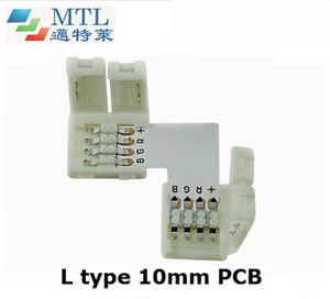 RGB corner connector L type FPC-4P10MM-L